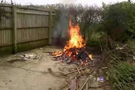 New laws on backyard fires